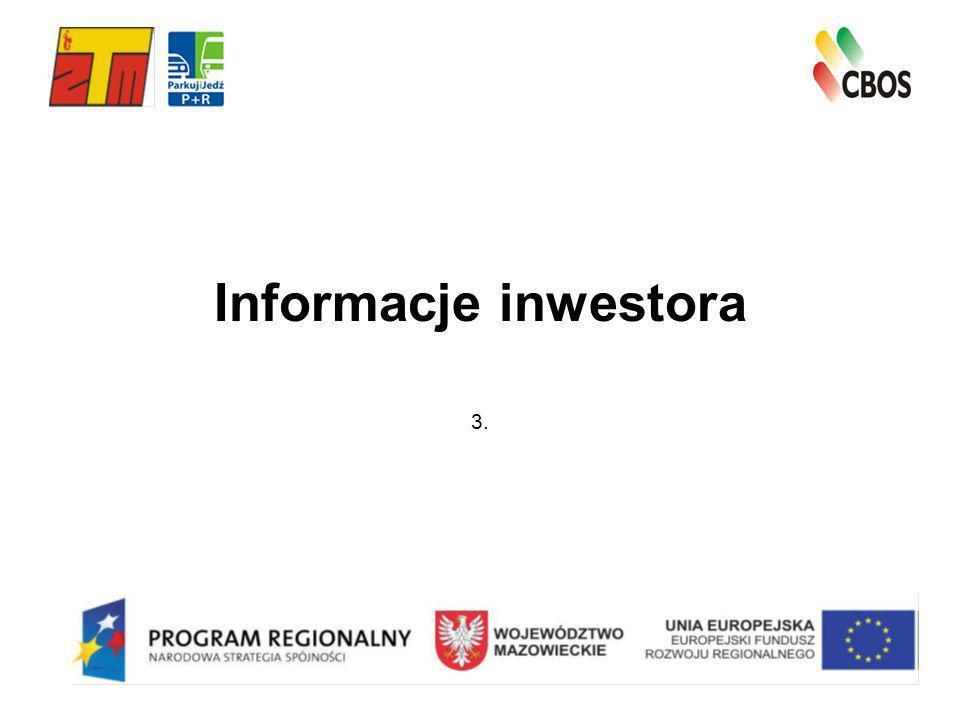 Informacje inwestora 3.
