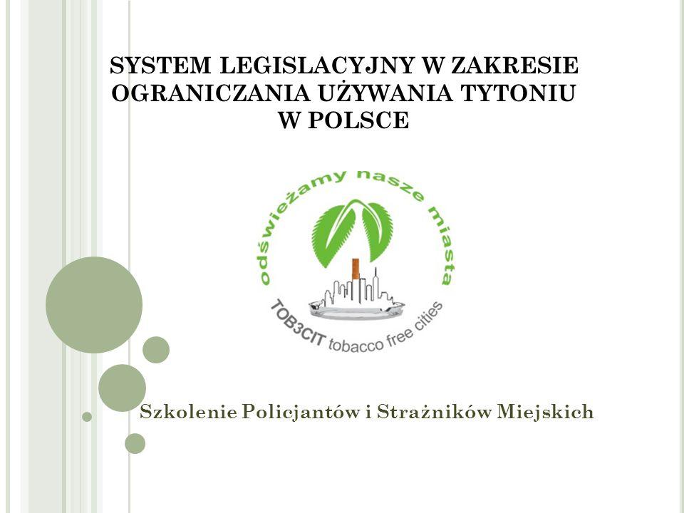 C ZYNNIKI MOGĄCE MIEĆ WPŁYW NA OGRANICZENIE PALENIA TYTONIU PALĄCY NIEPALĄCY Źródło: Raport z ogólnopolskiego badania ankietowego na temat postaw wobec palenia tytoniu, GIS, grudzień 2011