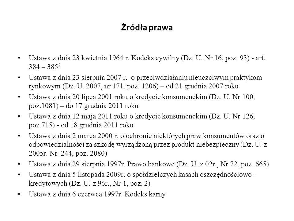Kredyt konsumencki – obowiązki przedumowne Art.9 ukk 1.