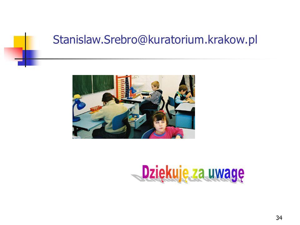 34 Stanislaw.Srebro@kuratorium.krakow.pl