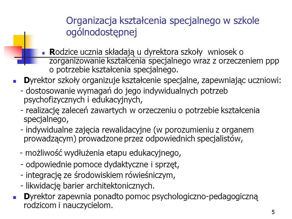 6 Rozporządzenie MEN z dnia 7 września 2004 r.