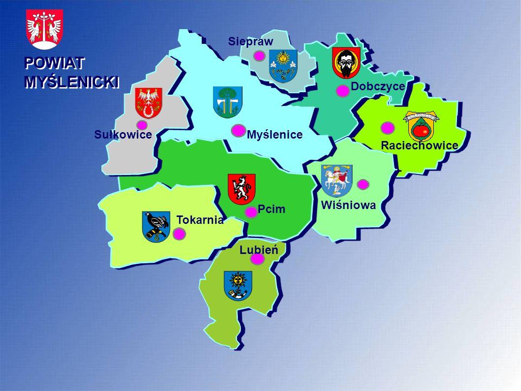 POWIAT MYŚLENICKI Poprawa infrastruktury drogowej i obiektów inżynieryjnych Najważniejsze modernizacje i remonty dróg powiatowych w latach 2012 -2013 - 2012 r.