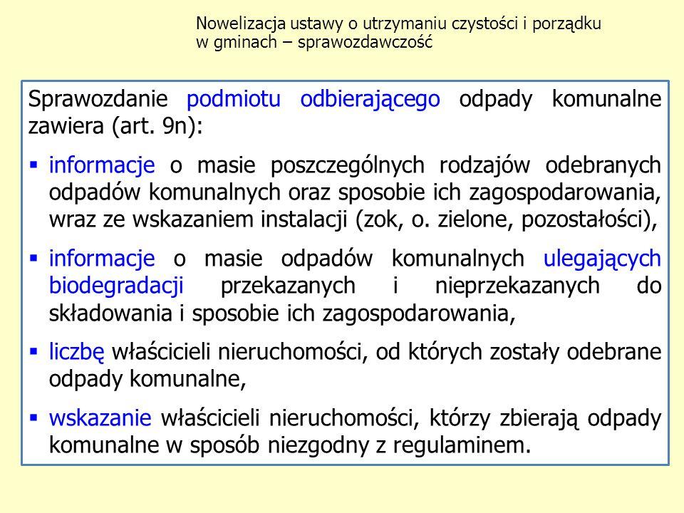 Weryfikacja danych zawartych w sprawozdaniu (art.