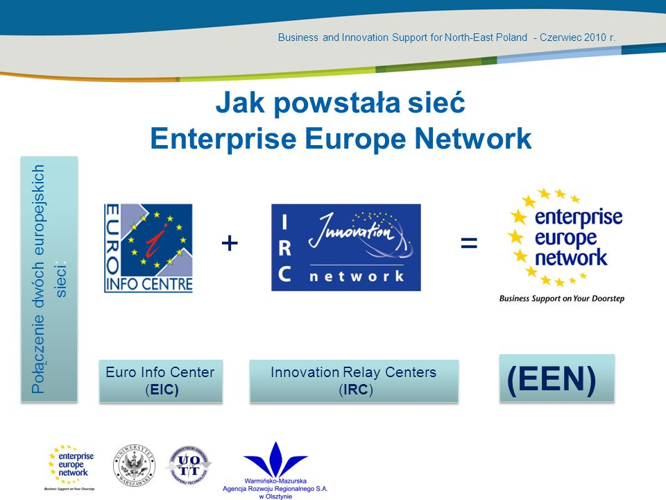 Business and Innovation Support for North-East Poland - Czerwiec 2010 r.