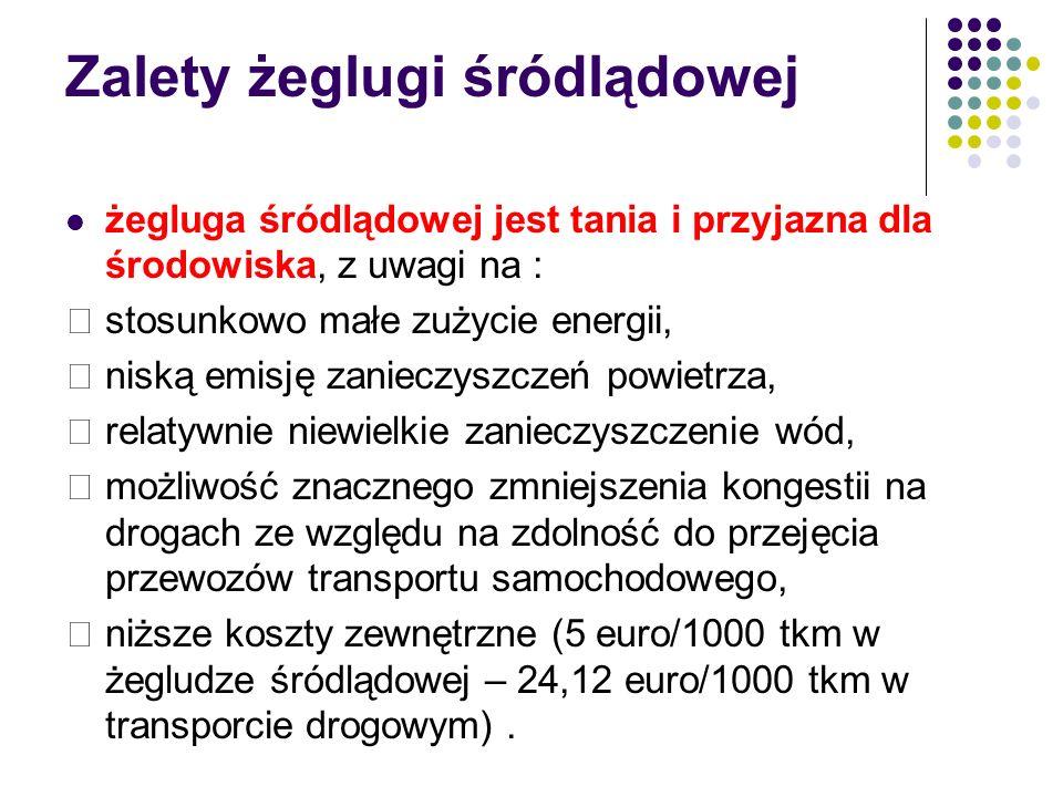 Infrastruktura gospodarcza wzdłuż Górnej Odry Port Gliwice Port Koźle Port w Opolu (Zakrzów) Port przemysłowy cementowni Górażdże (Chorula) Port przemysłowy Zakładów Aparatury Chemicznej METALCHEM w Opolu Port w Oławie Port Miejski we Wrocławiu Port wyładunkowy MPWiK Wrocław Port Kozanów we Wrocławiu Pozostałe przeładownie i nabrzeża Stocznia Januszkowice Stocznia Koźle zajmuje się remontami jednostek pływających oraz budową statków, kadłubów i ich części.