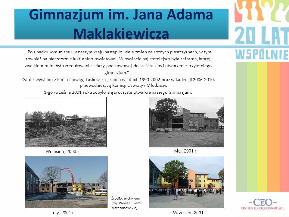 www.mszczonow.pl Folder gminy Mszczonów.