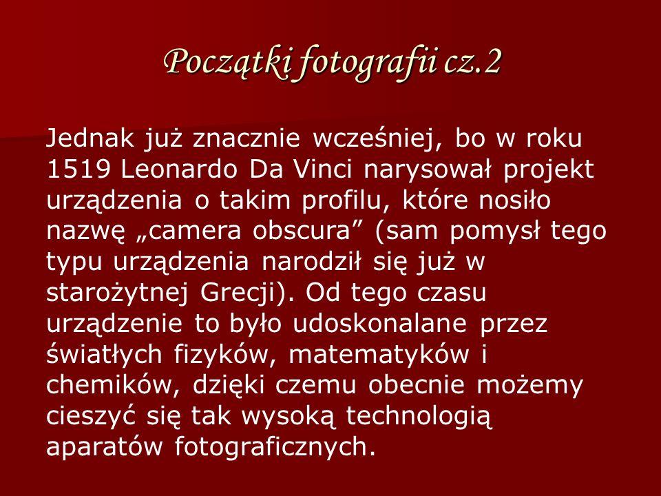 Początki fotografii cz.3 Droga ta jednak nie była łatwa i wymagała od uczonych wiele wytrwałości.