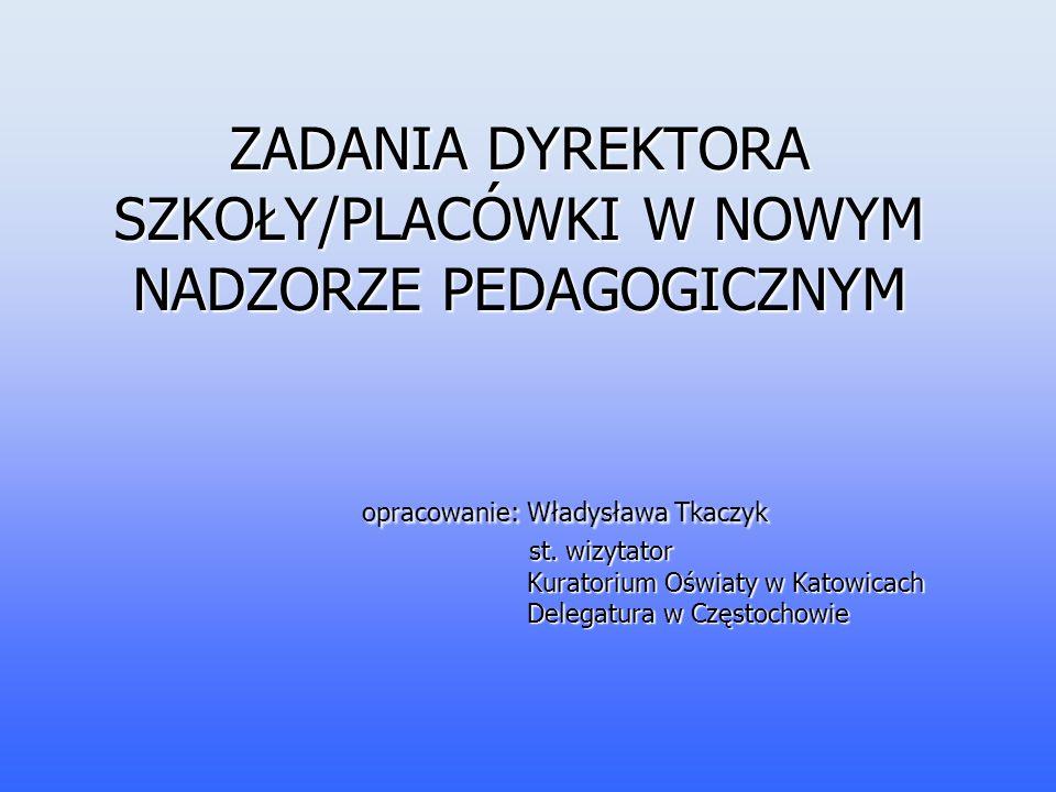 Od 9 listopada 2009 roku obowiązuje rozporządzenie Ministra Edukacji Narodowej z dnia 7 października 2009 r.