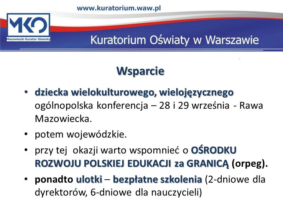 Wsparcie dziecka wielokulturowego, wielojęzycznego dziecka wielokulturowego, wielojęzycznego ogólnopolska konferencja – 28 i 29 września - Rawa Mazowi