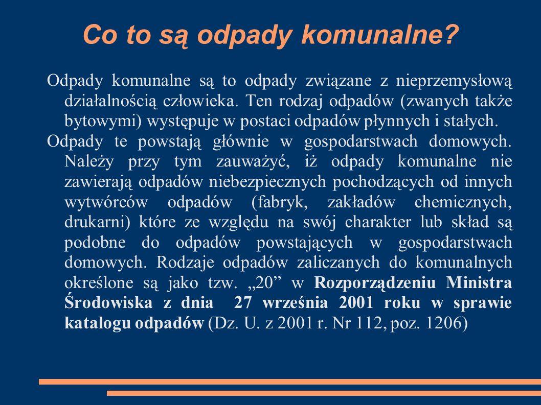 Zalety nowego systemu gospodarki odpadami na terenie Gminy Miasto Ustka c.