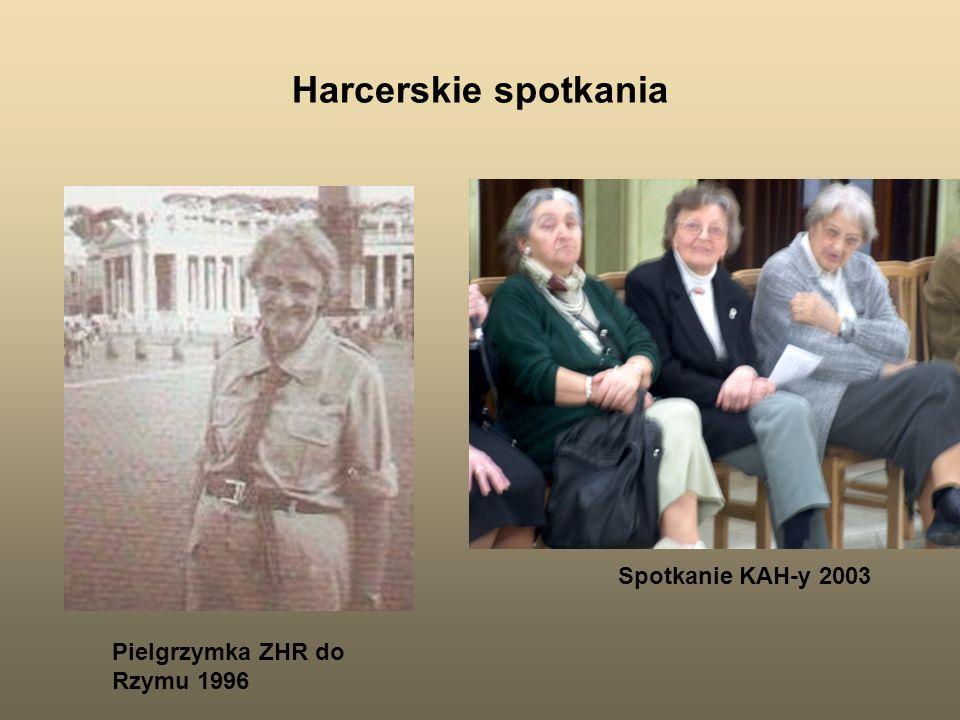 Harcerskie spotkania Spotkanie KAH-y 2003 Pielgrzymka ZHR do Rzymu 1996