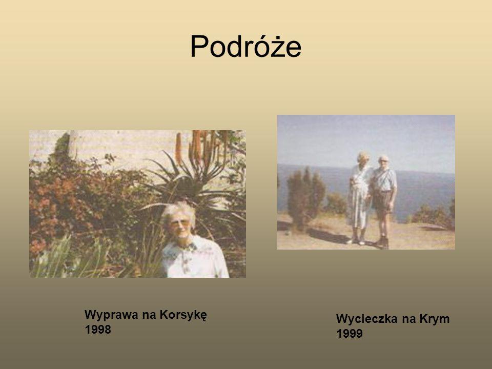 Podróże Wycieczka na Krym 1999 Wyprawa na Korsykę 1998
