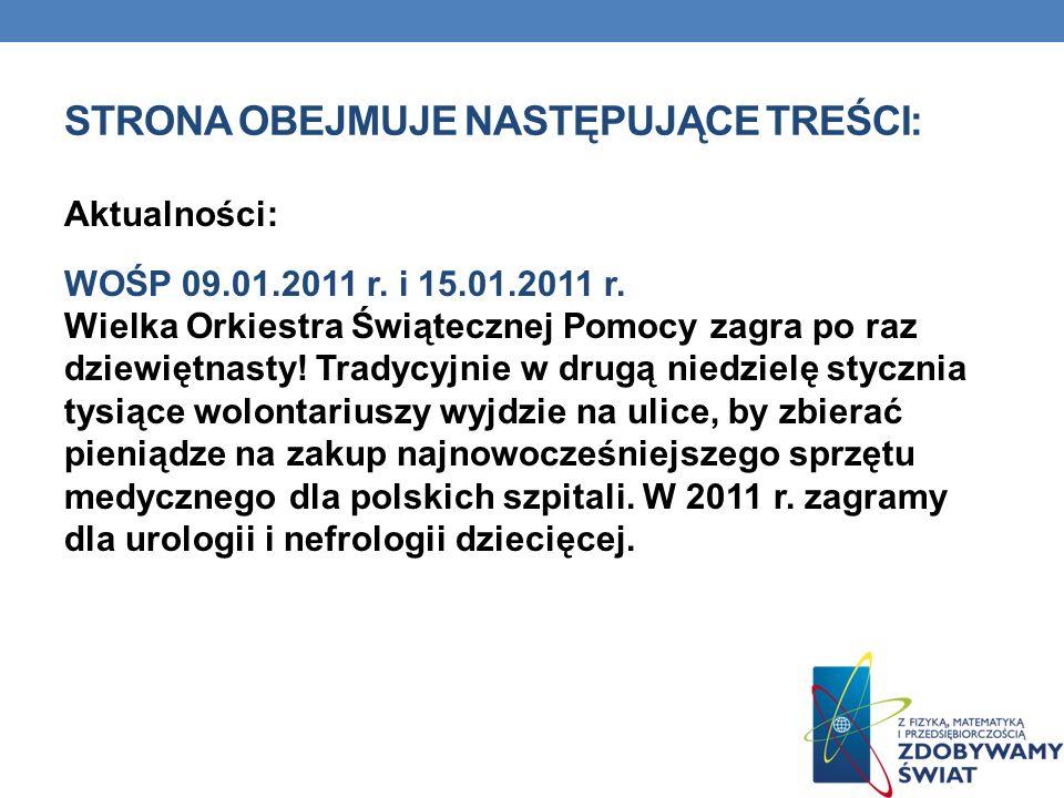 KLASA Z KLASĄ 6.09.2010 r.- 10.06.2010 r.