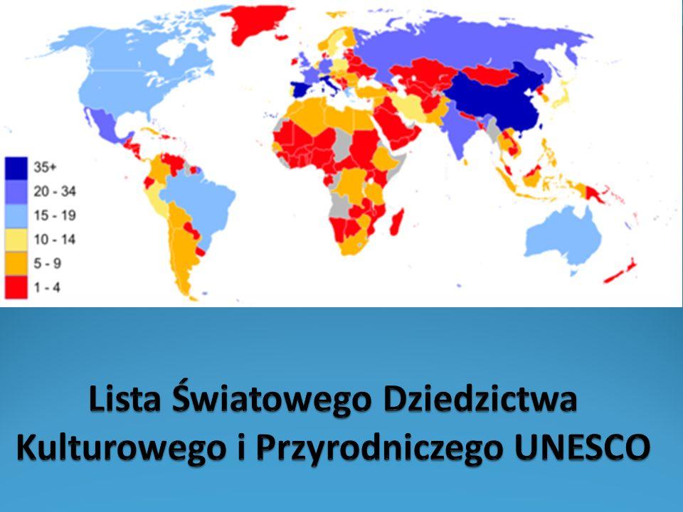 Co zawiera lista UNESCO.