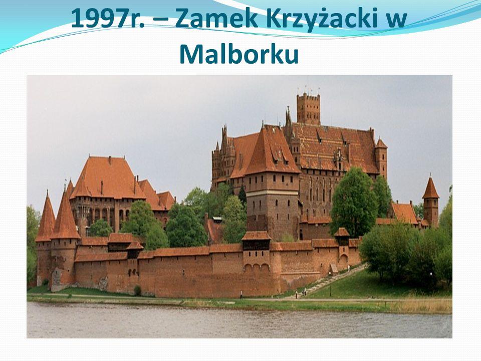 Historia Zamku w Malborku Zamek krzyżacki w Malborku - trzyczęściowa twierdza obronna w stylu gotyckim.