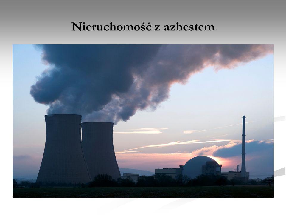 Nieruchomość z azbestem