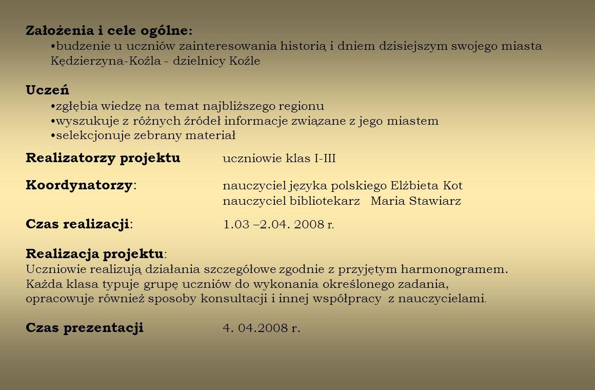 2.Spacer ulicami Koźla Pocztówka z dawnego Koźla wykonana przy 11.03.-20.03.