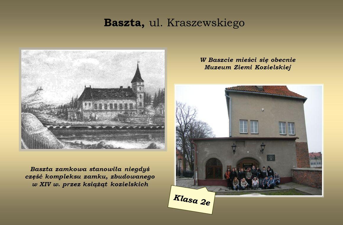 ul.Planetorza 2 Klasa 3a W tym budynku od 1850 r.