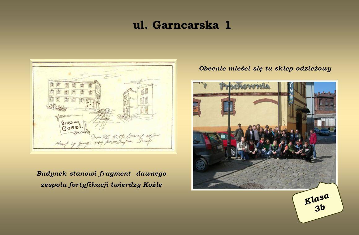 róg ulic Piramowicza i Planetorza Klas a 3d Budynek istnieje od 1871 r.