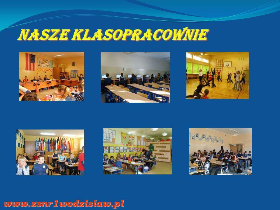 Nasze klasopracownie www.zsnr1wodzislaw.pl