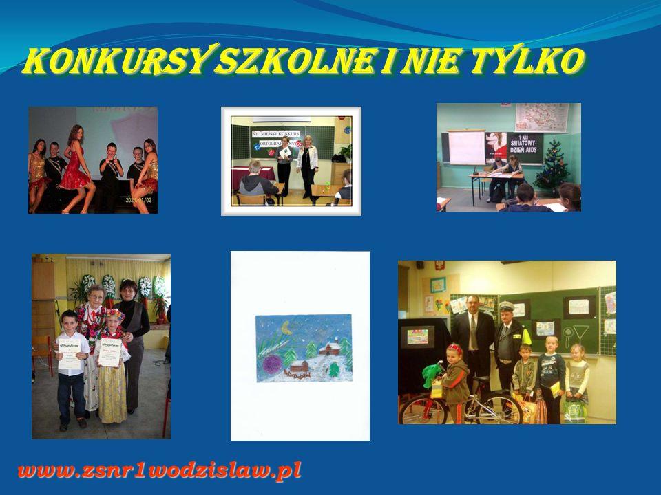 Konkursy szkolne i nie tylko www.zsnr1wodzislaw.pl