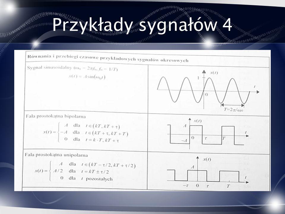Przykłady sygnałów 4