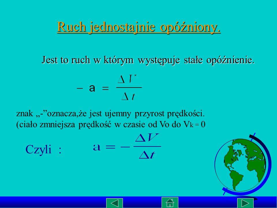 Wykres zależności S(t) w ruchu jednostajnie przyśpieszonym. S[m.] t[s] Wykresem tej zależności jest parabola