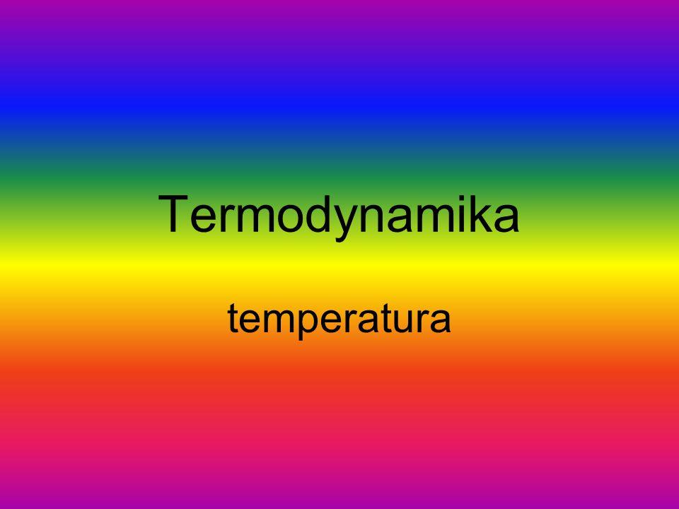 Termodynamika temperatura