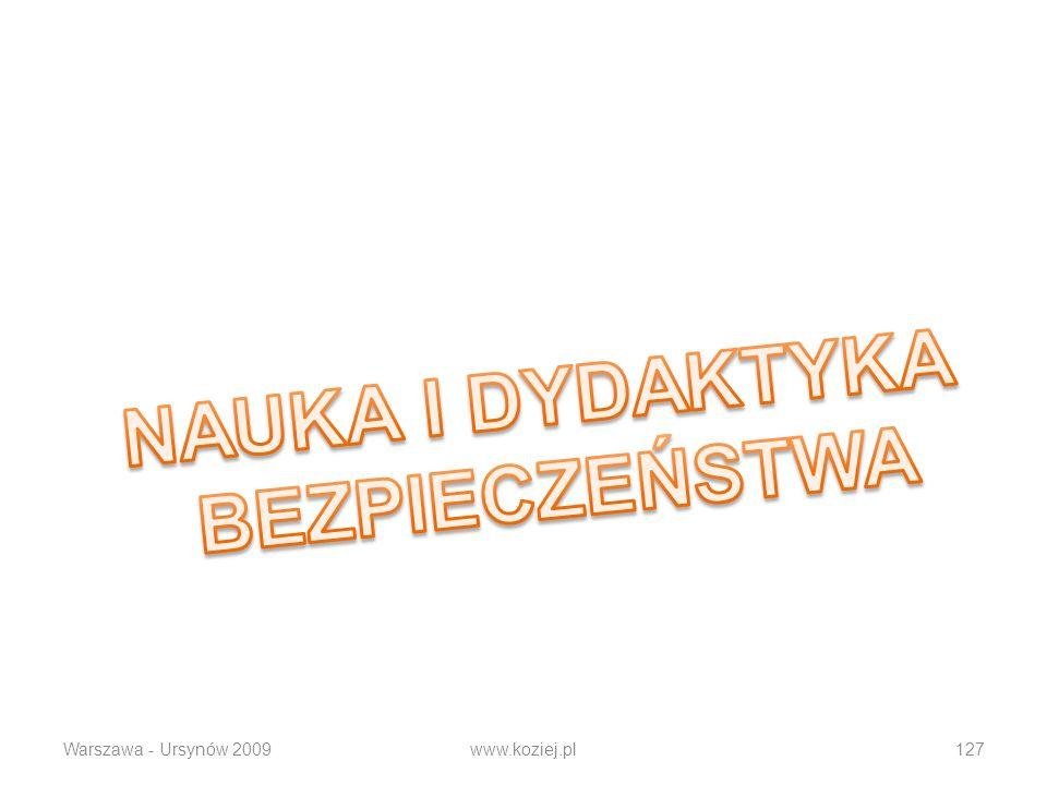 Warszawa - Ursynów 2009www.koziej.pl127