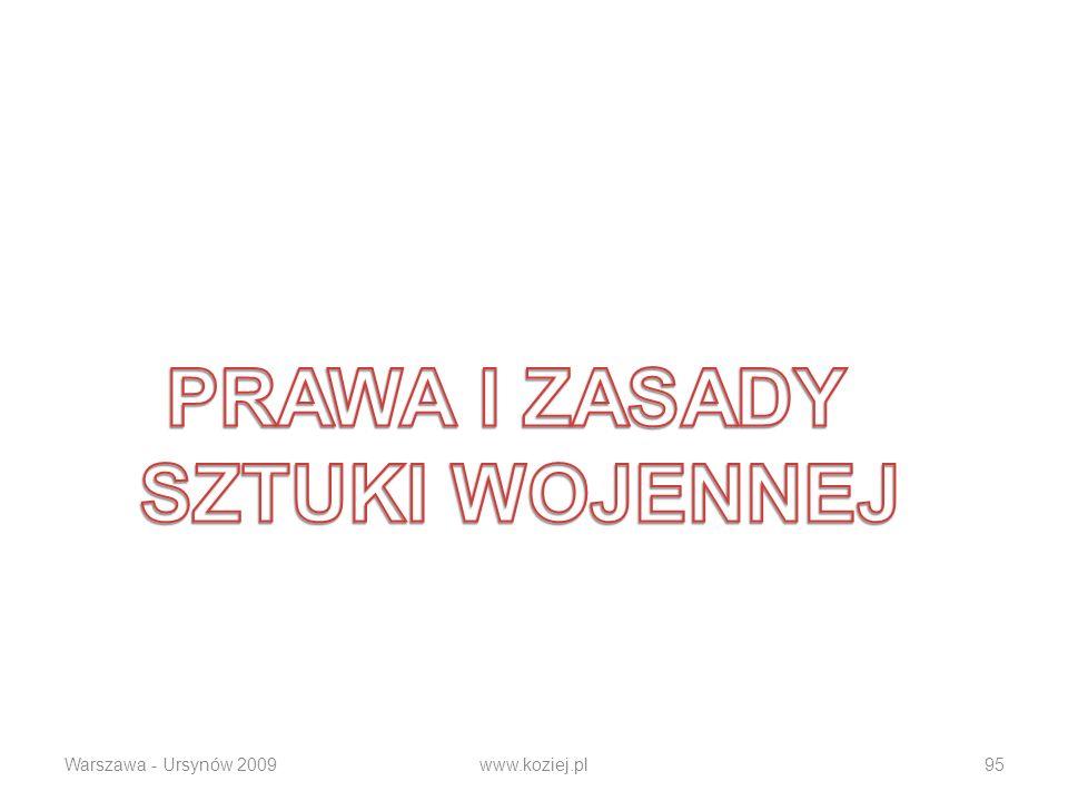 Warszawa - Ursynów 2009www.koziej.pl95