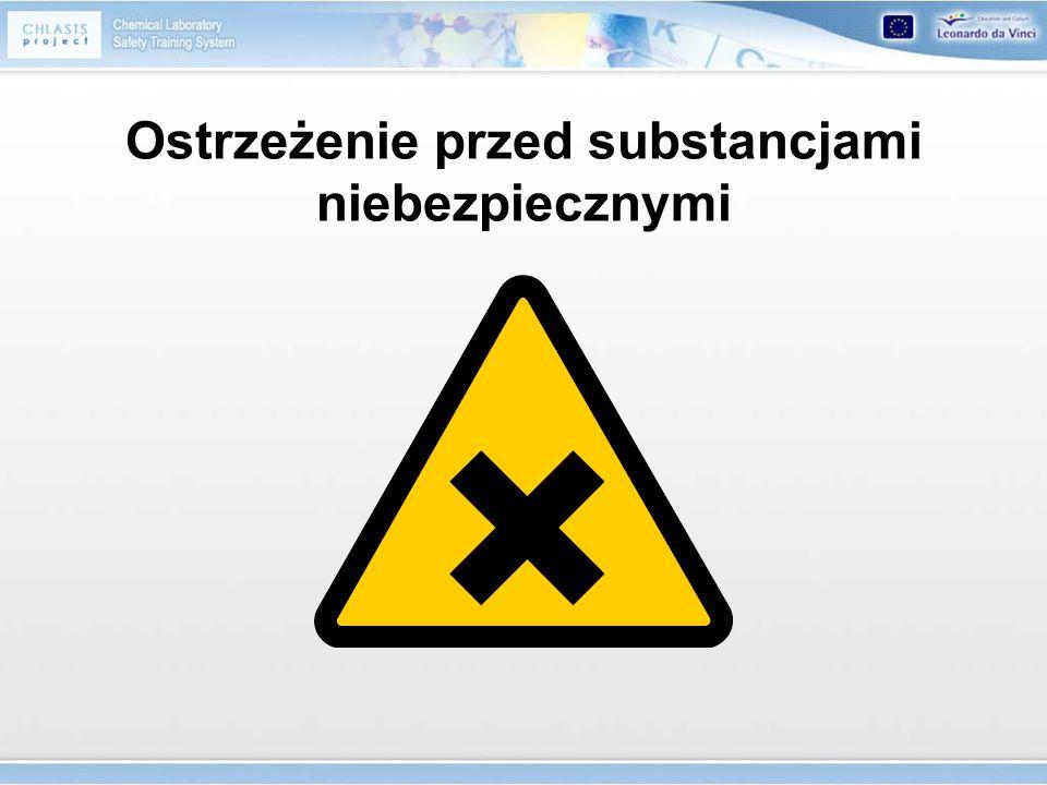 Ostrzeżenie przed substancjami niebezpiecznymi