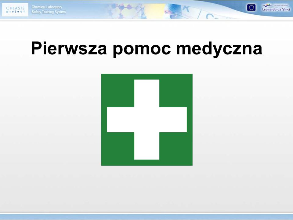 Pierwsza pomoc medyczna