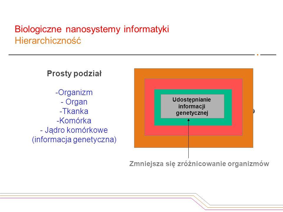System hierarchiczny - układ wzajemnie powiązanych podsystemów, z których każdy ma również strukturę hierarchiczną, aż do osiągnięcia najniższego pozi