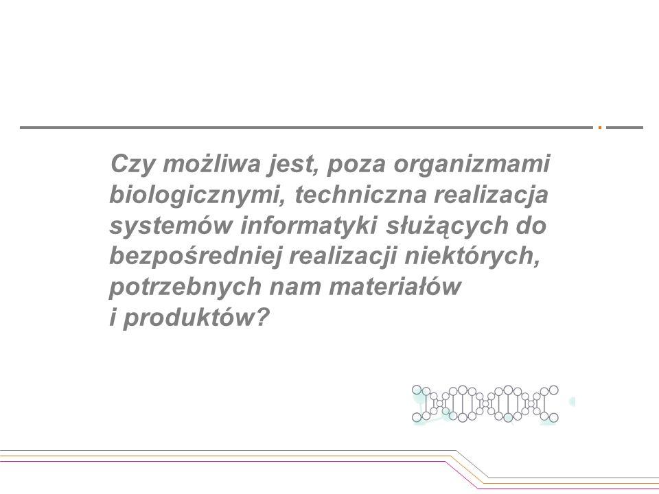 Czy możliwa jest, poza organizmami biologicznymi, techniczna realizacja systemów informatyki służących do bezpośredniej realizacji niektórych, potrzeb