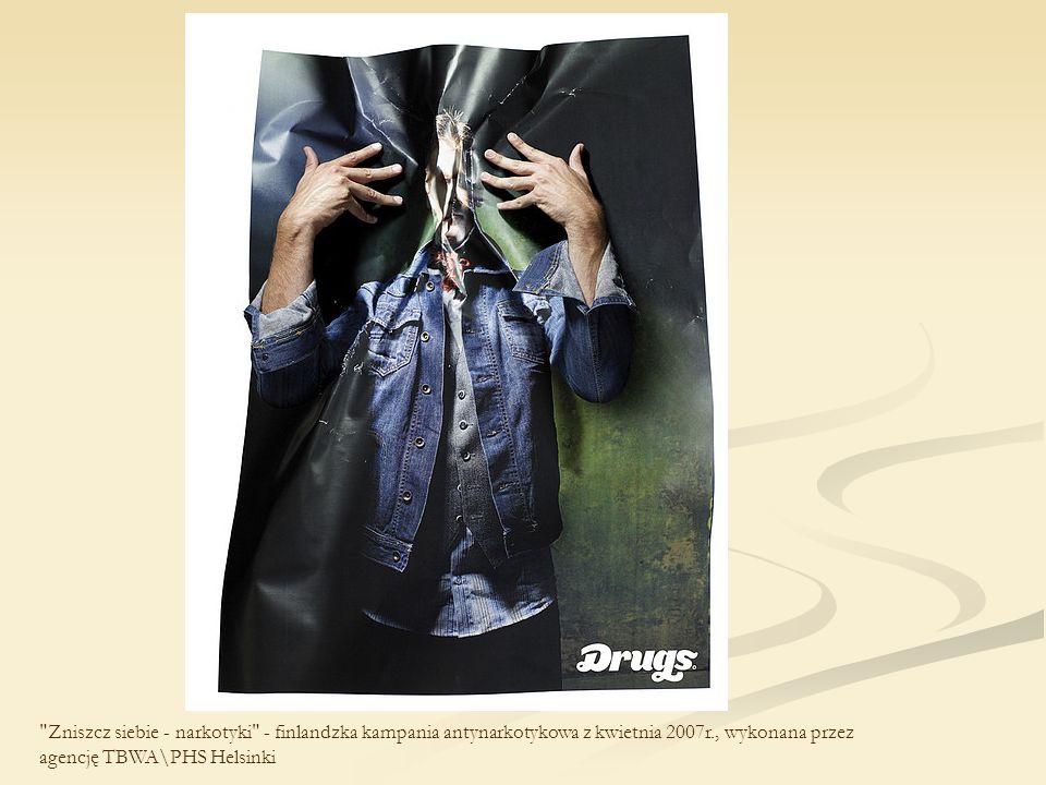 Kampania antynarkotykowa pod hasłem What s the worst that could happen? , przeprowadzona w wyniku współpracy amerykańskiego Narodowego Biura ds.