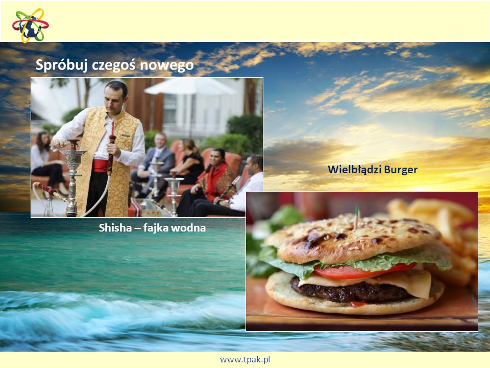 Spróbuj czegoś nowego Shisha – fajka wodna Wielbłądzi Burger www.tpak.pl
