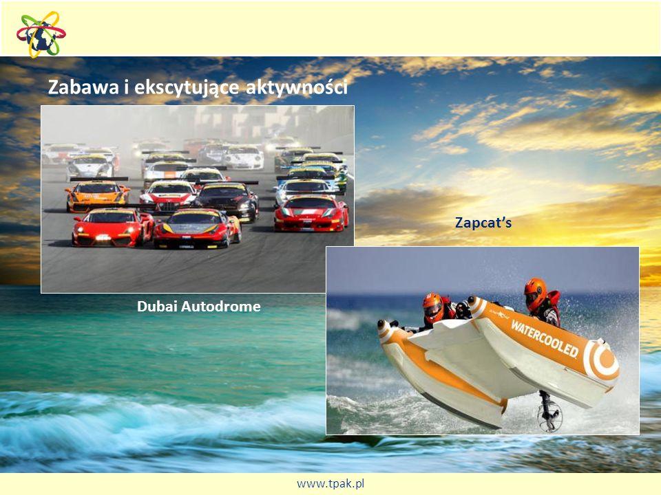 Zabawa i ekscytujące aktywności Dubai Autodrome Zapcats www.tpak.pl