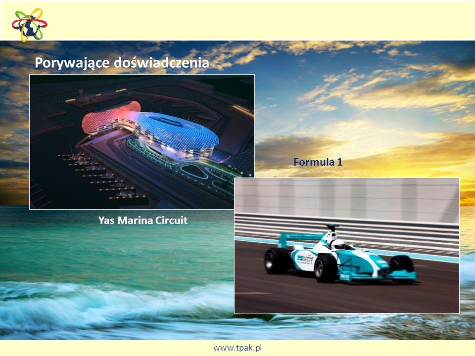 Porywające doświadczenia Yas Marina Circuit Formula 1 www.tpak.pl