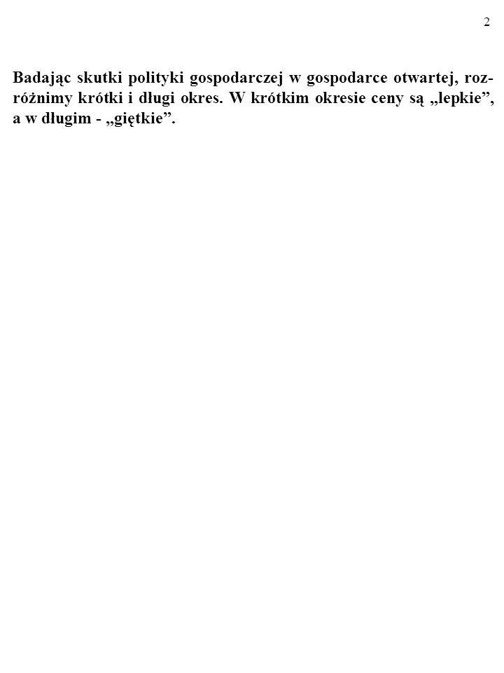 62 4.Czy to prawda, że skuteczność dewaluacji wzmacniają: a) Efekt krzywej J.