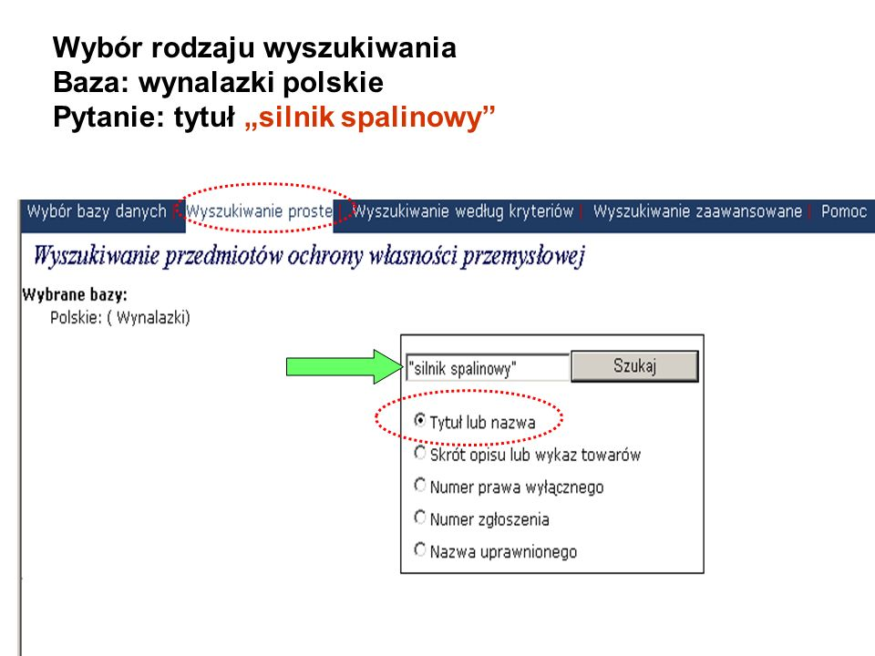 SERWER PUBLIKACJI www.uprp.pl Nowe narzędzie wyszukiwawcze pozyskane i wdrożone we współpracy z Europejskim Urzędem Patentowym (EPO).