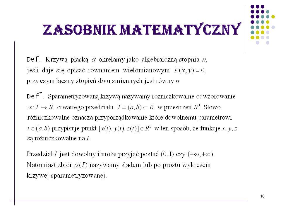 16 Zasobnik matematyczny