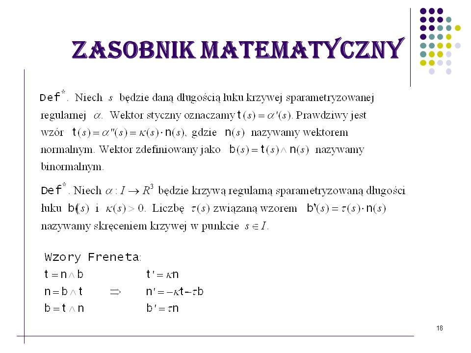 18 Zasobnik matematyczny