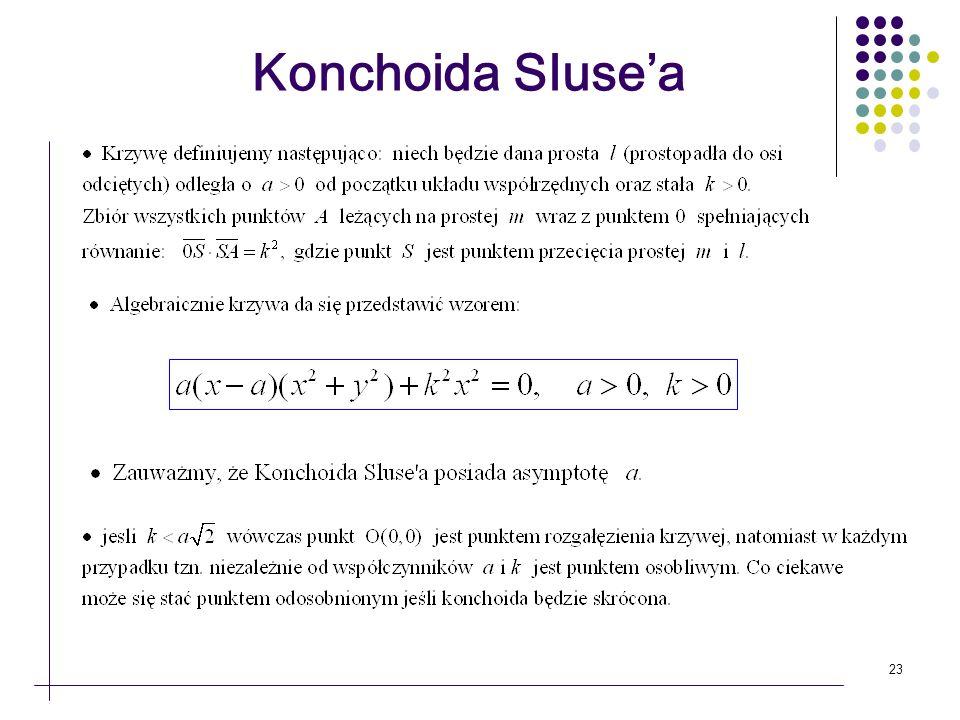 23 Konchoida Slusea