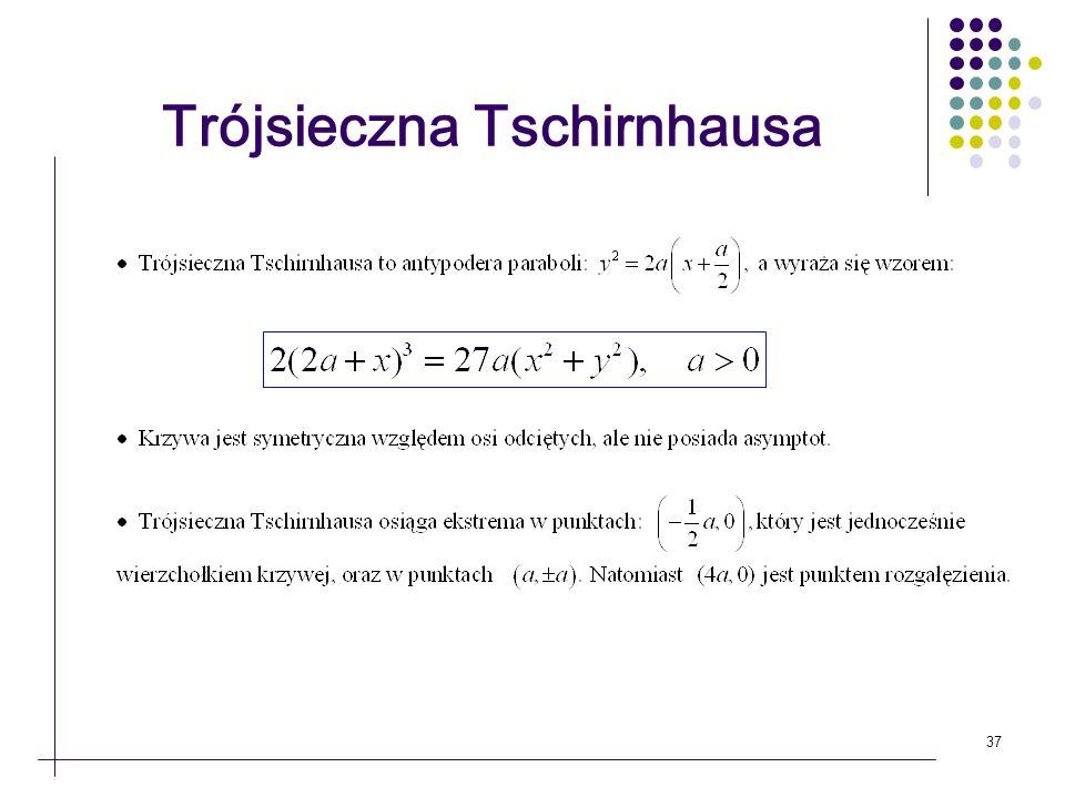 37 Trójsieczna Tschirnhausa