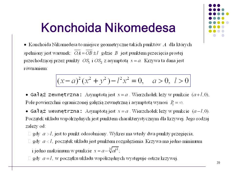39 Konchoida Nikomedesa