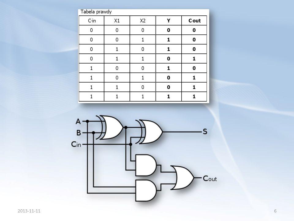 Komparator jest układem umożliwiającym porównywanie informacji (zwykle liczb binarnych albo dwóch napięć (wykonanie analogowe).