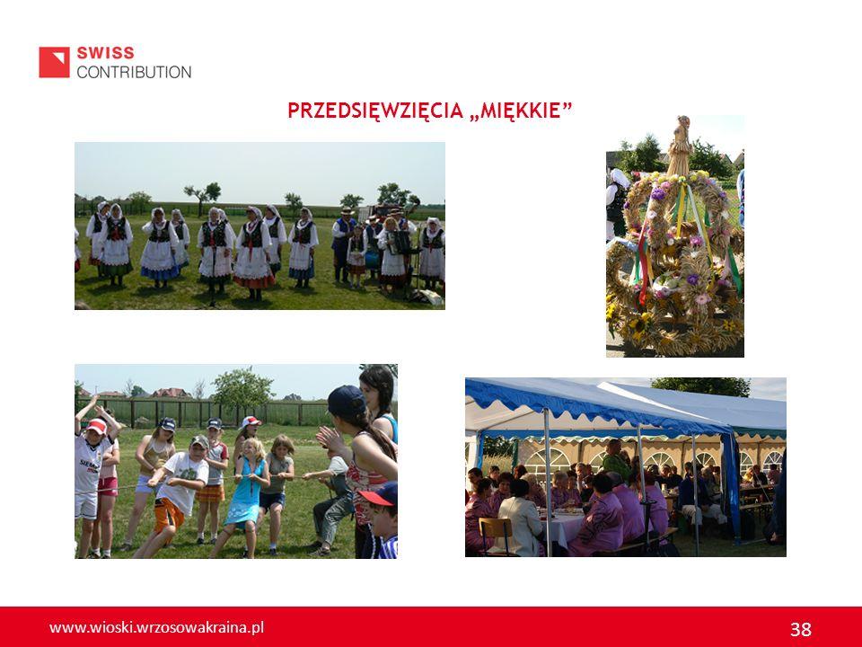 www.wioski.wrzosowakraina.pl 38 PRZEDSIĘWZIĘCIA MIĘKKIE