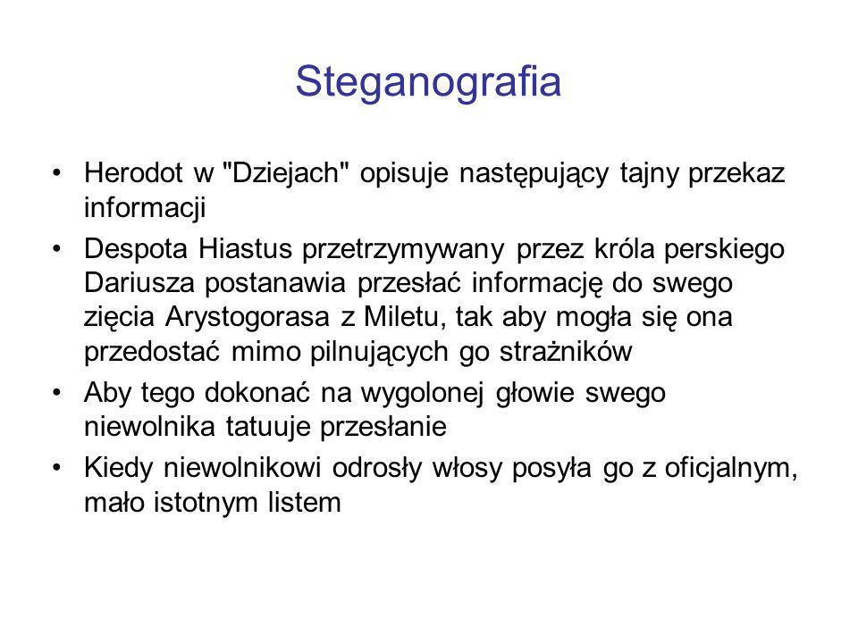 Steganografia Herodot w