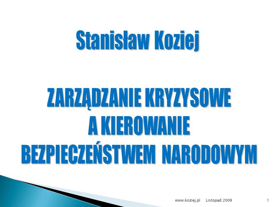 Listopad 2009www.koziej.pl1