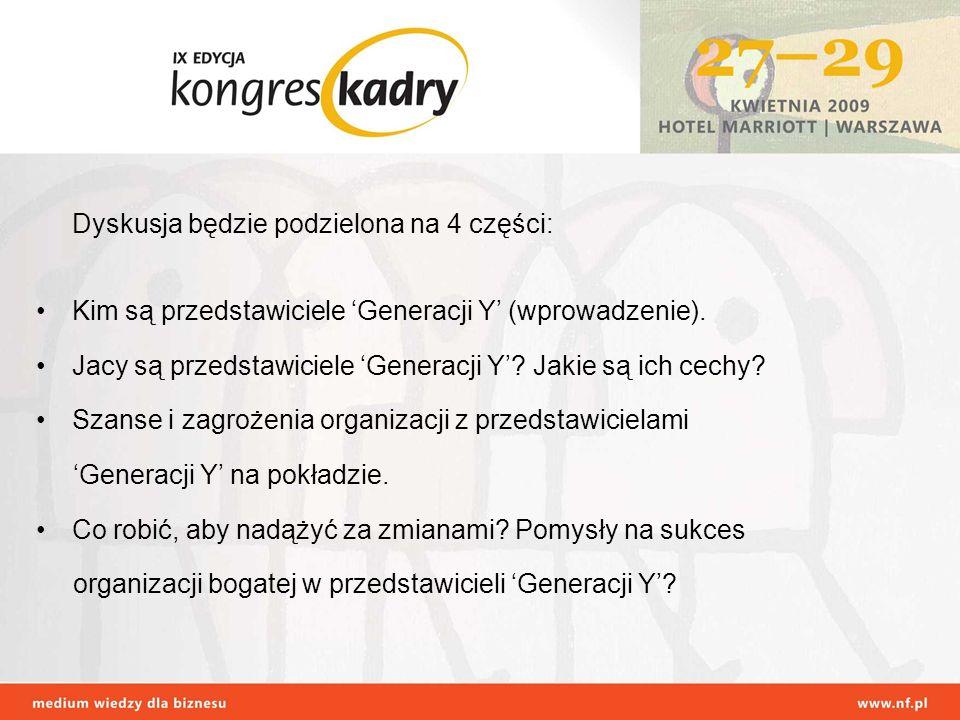 Czy w Polsce istnieje Generacja Y.